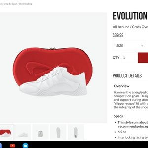 Nfinity evolution cheer shoes